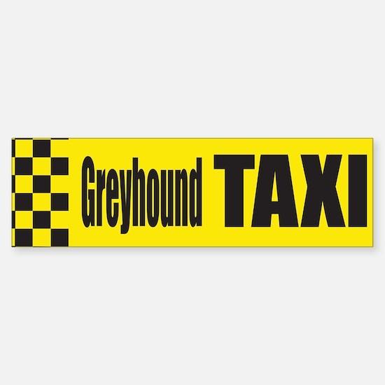 Greyhound Bumper Bumper Bumper Sticker