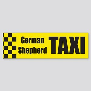 German Shepard Bumper Sticker