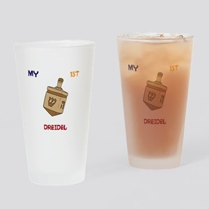 1ST Dreidel Drinking Glass