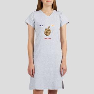 1ST Dreidel Women's Nightshirt