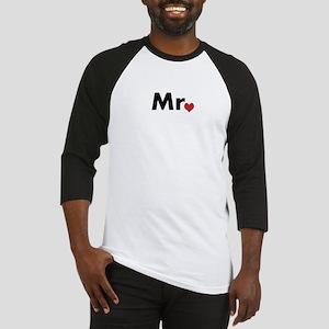 Mr and Mrs matching hats Baseball Jersey