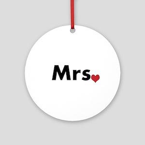 Mrs Round Ornament