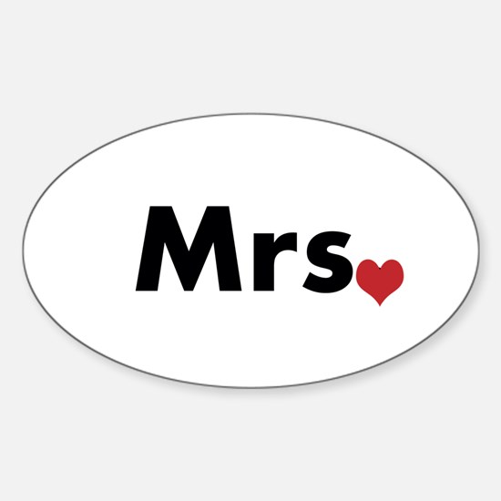 Mr and Mrs Sticker (Oval)