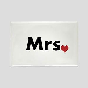 Mrs Rectangle Magnet