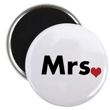 """Mr and Mrs 2.25"""" Magnet (10 pack)"""