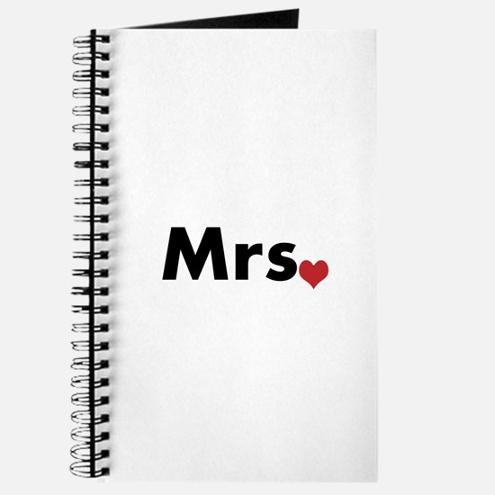Mr and Mrs Journal