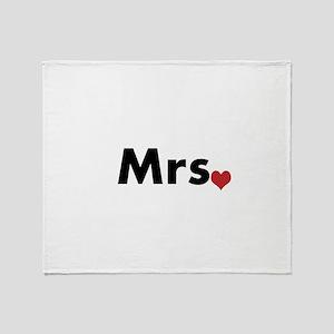 Mrs Throw Blanket