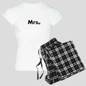 Mr and Mrs Women's Light Pajamas
