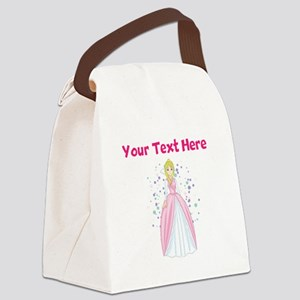 Personalize This Princess Canvas Lunch Bag