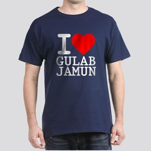 I Love Gulab Jamun Dark T-Shirt