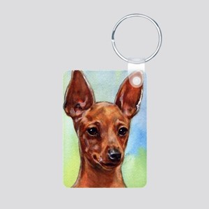 MinPin Aluminum Photo Keychain