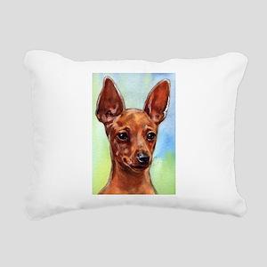 MinPin Rectangular Canvas Pillow