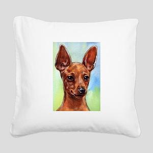 MinPin Square Canvas Pillow