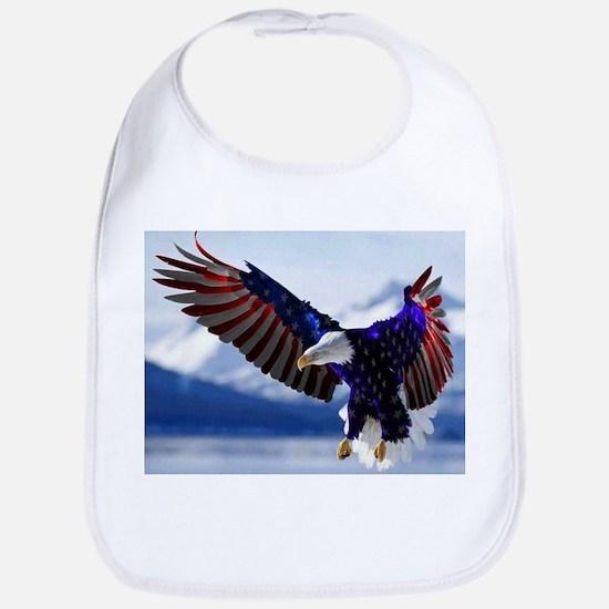 All American Eagle Bib