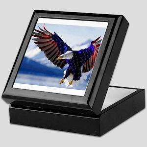 All American Eagle Keepsake Box