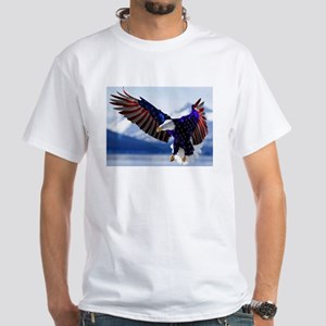 All American Eagle White T-Shirt