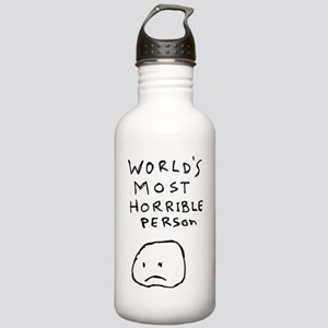 World's Most Horrible Person Stainless Water Bottl