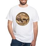 Nickel Buffalo-Indian White T-Shirt