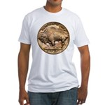 Nickel Buffalo-Indian Fitted T-Shirt