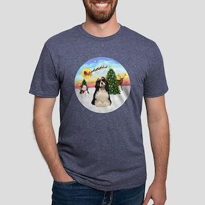 R-TakeOff-Cocker-parti Mens Tri-blend T-Shirt
