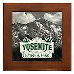 Yosemite Design - Custom Photo Option Framed Tile