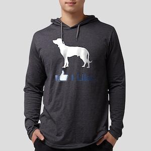 Bavarian-Mountain-Hound02 Mens Hooded Shirt