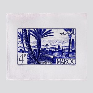 1947 Morocco Marrakesh Postage Stamp Stadium Blan