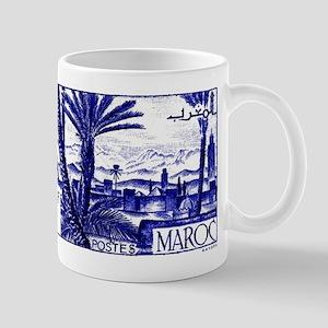 1947 Morocco Marrakesh Postage Stamp Mug