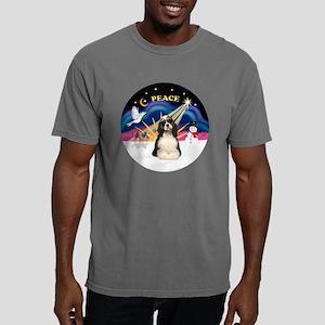 R-XmasSunrise-Cocker-par Mens Comfort Colors Shirt