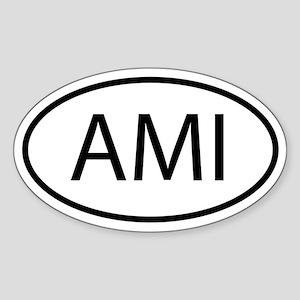 AMI Sticker (Oval)