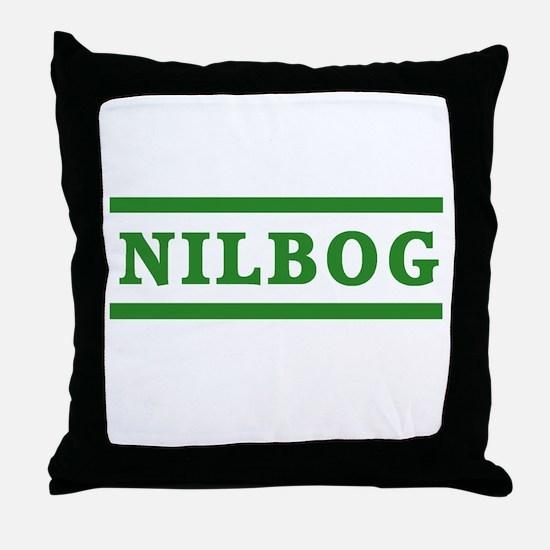 Troll 2 Nilbog Throw Pillow