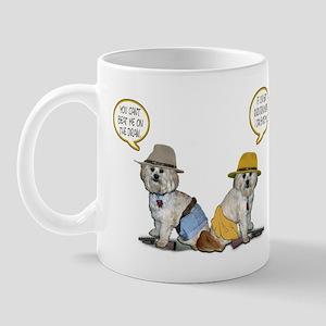 Shitzapoo Cowboys Mug
