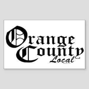Orange County Local Rectangle Sticker
