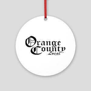 Orange County Local Ornament (Round)