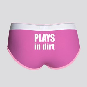 plays in dirt Women's Boy Brief