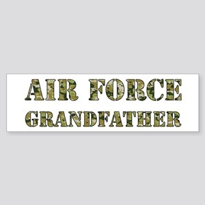 Camo Grandfather Bumper Sticker