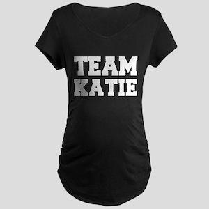 TEAM KATIE Maternity Dark T-Shirt