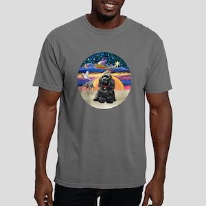 R-X-Angel-BlackCocker.pn Mens Comfort Colors Shirt