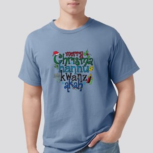 Merry Chrismahannukwanza Mens Comfort Colors Shirt