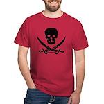 Pirate Fencer Cardinal Red T-Shirt