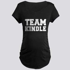 TEAM KINDLE Maternity Dark T-Shirt