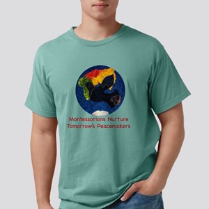 Montessorians Nurture Pe Mens Comfort Colors Shirt