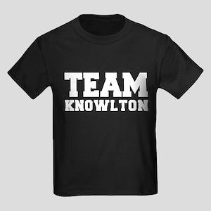 TEAM KNOWLTON Kids Dark T-Shirt