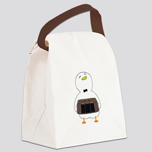 Bandoneon Player Canvas Lunch Bag