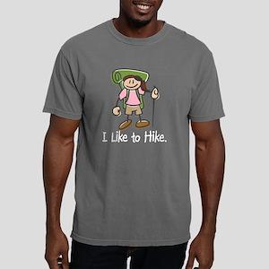Happy Hiker Girl Mens Comfort Colors Shirt