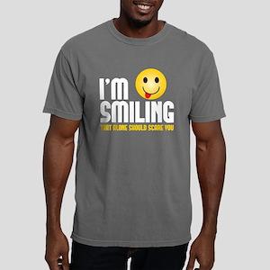 im smiling Mens Comfort Colors Shirt