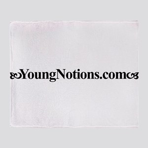 YoungNotions.com Throw Blanket