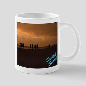 Sanibel Sunset Blue Mug