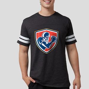 American Football Player Ball  Mens Football Shirt
