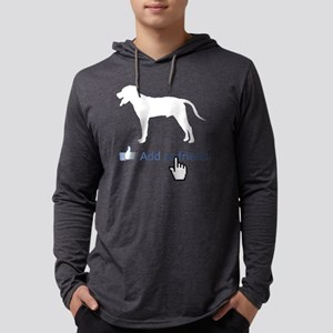 Blackmouth-Cur14 Mens Hooded Shirt